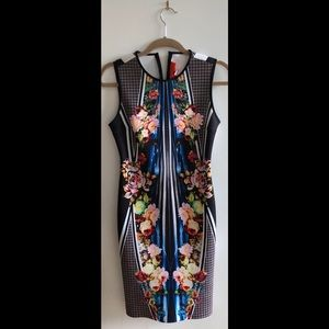 Clover Canyon scuba fabric mini dress. Like new!
